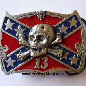 "Přezka ""Rebel Flag 13""-0"