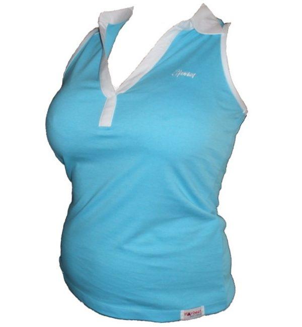 """Hardset dámské triko """"V-BLUE""""-0"""