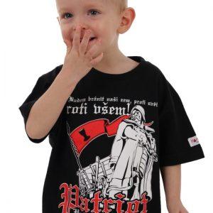 """Hardset triko dětské """"Proti všem!""""-0"""