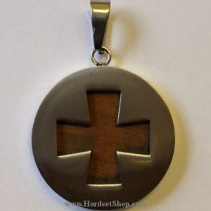 """Přívěšek chirurgická ocel """"Maltézský kříž RNG""""-0"""