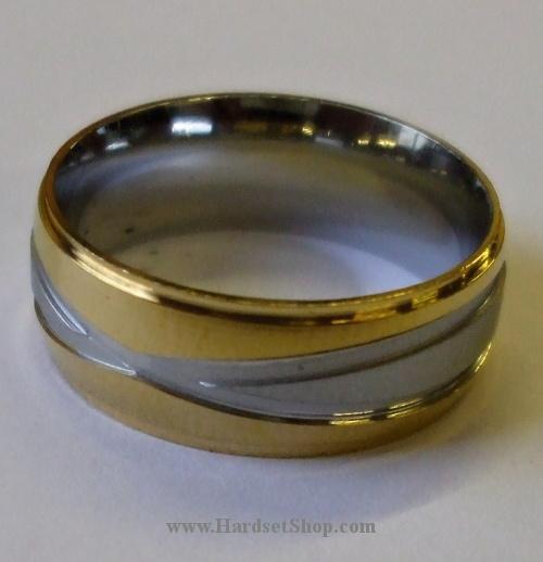 """Chirurgická ocel prsten """"ZKRG""""-0"""