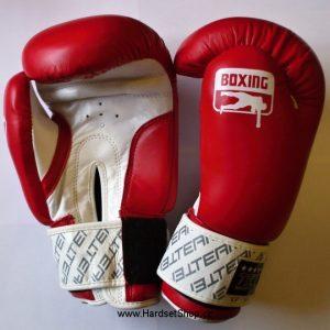 """Boxerské rukavice Team X 10oz """"Kůže""""-0"""