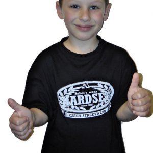 """Hardset dětské triko """"Since 2003"""" BLACK-0"""
