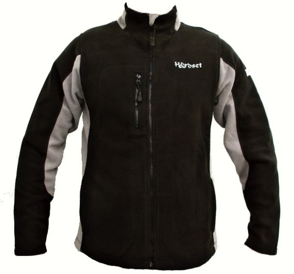 "Hardset mikina fleece ""BLACK""-0"