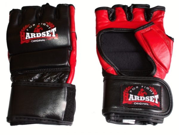 "Hardset MMA rukavice ""Kožené""-0"