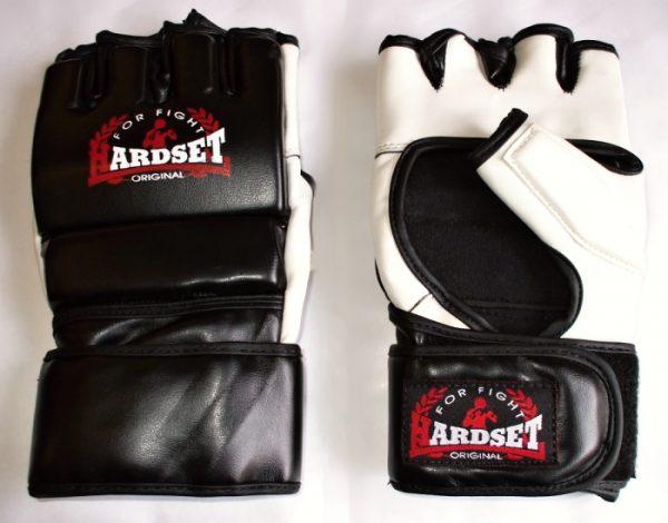 """Hardset MMA rukavice """"Polokožené""""-0"""