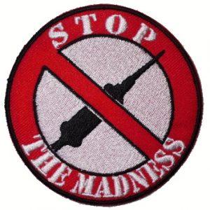 Nášivka Stop The Madness-0