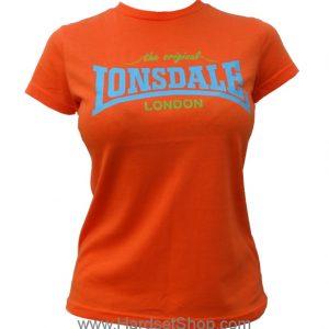 """Lonsdale dámské triko """"ORANGE-N""""-0"""