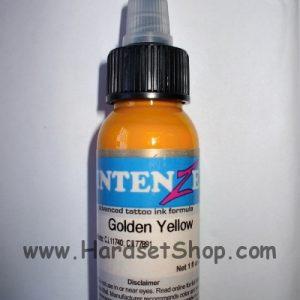 Tetovací barva Intenze Golden Yellow 30ml-0