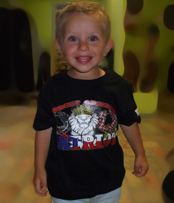 Hardset Patriot 2015 dětské triko-0