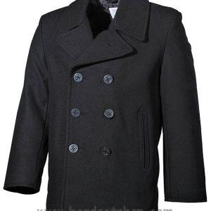 "US Námořnický Kabát ""BLACK""-0"