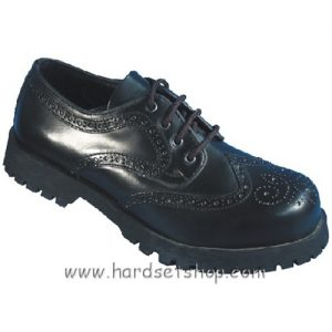 """Boots & Braces 4 dírkové """"Budapester BLACK""""-0"""