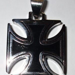 """Chirurgická ocel """"Maltézský kříž 2.7cm""""-0"""