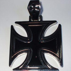 """Chirurgická ocel - přívěšek""""Válečný Kříž 4.5cm""""-0"""