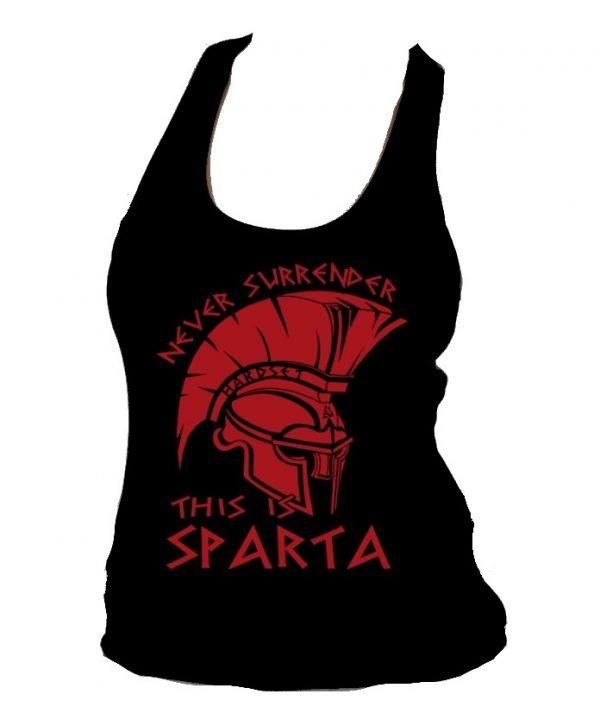 """Dámské tílko Hardset """"This Is Sparta!""""-0"""