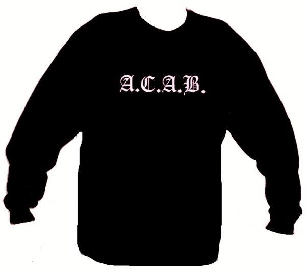 "A.C.A.B. mikina ""BLACK""-0"