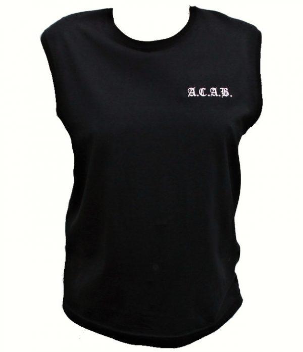 """A.C.A.B. tílko """"BLACK""""-0"""