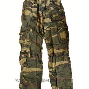 """Kalhoty Vintage """"Woodland""""-0"""