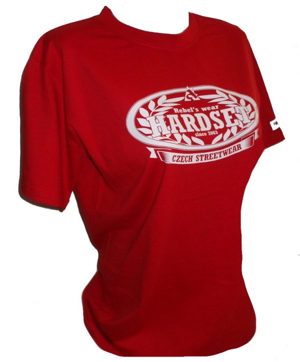 """Hardset dámské triko """"since 2003-RED""""-0"""