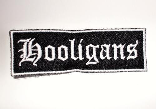 "Hooligans nášivka ""Black""-0"