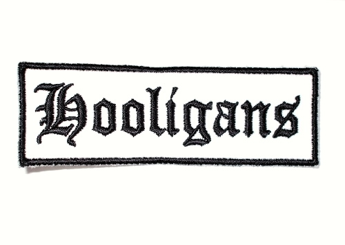 "Hooligans nášivka ""White""-0"