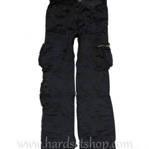 "Kalhoty Commando Big Shot ""BLACK""-0"