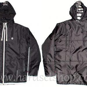Hooligan šustka s kapucí a zipem-0