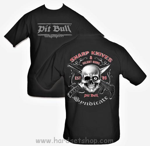 "Pit Bull triko ""Sharp Knives""-0"