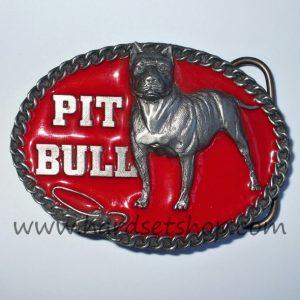 """Přezka Pit Bull """"RED""""-0"""