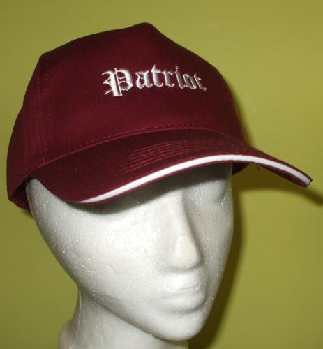 """Patriot kšiltovka """"BORDO""""-0"""