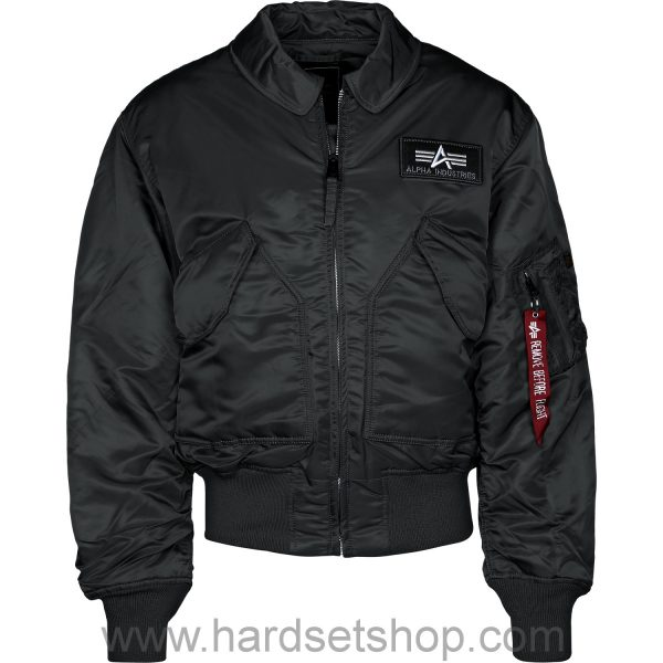 Alpha Industries Bomber CWU BLACK-0