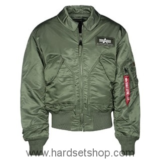 "Alpha Industries Bomber CWU ""OLIVE""-0"