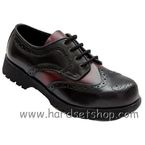 "Boots & Braces ""Budapester Black/Bordo""-0"