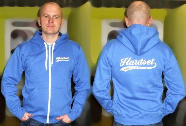 """Hardset mikina """"K+Z-BLUE""""-0"""