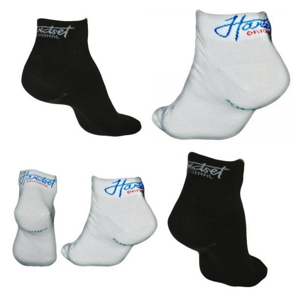 10 párů ponožek Hardset 5x WHITE/ 5x BLACK-0