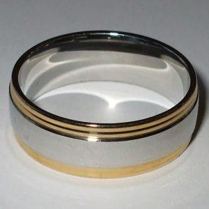 """Chirurgická ocel prsten """"LMG""""-0"""