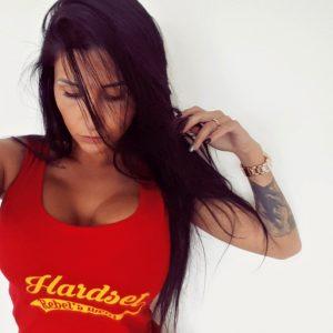 """Hardset dámské tílko """"Rebel´s Wear"""" RED-0"""