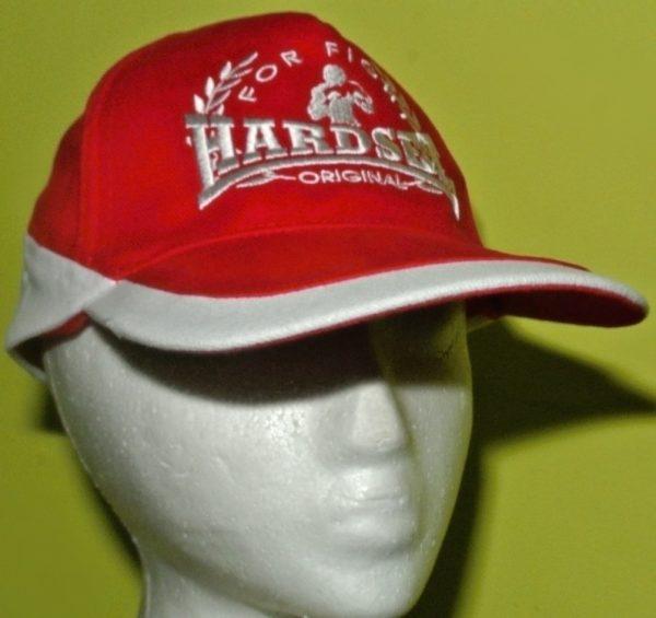 Kšiltovka Hardset For Fight RED/WHITE-0