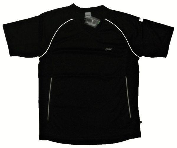 Hardset sportovní tričko 100% polyester BLACK-0